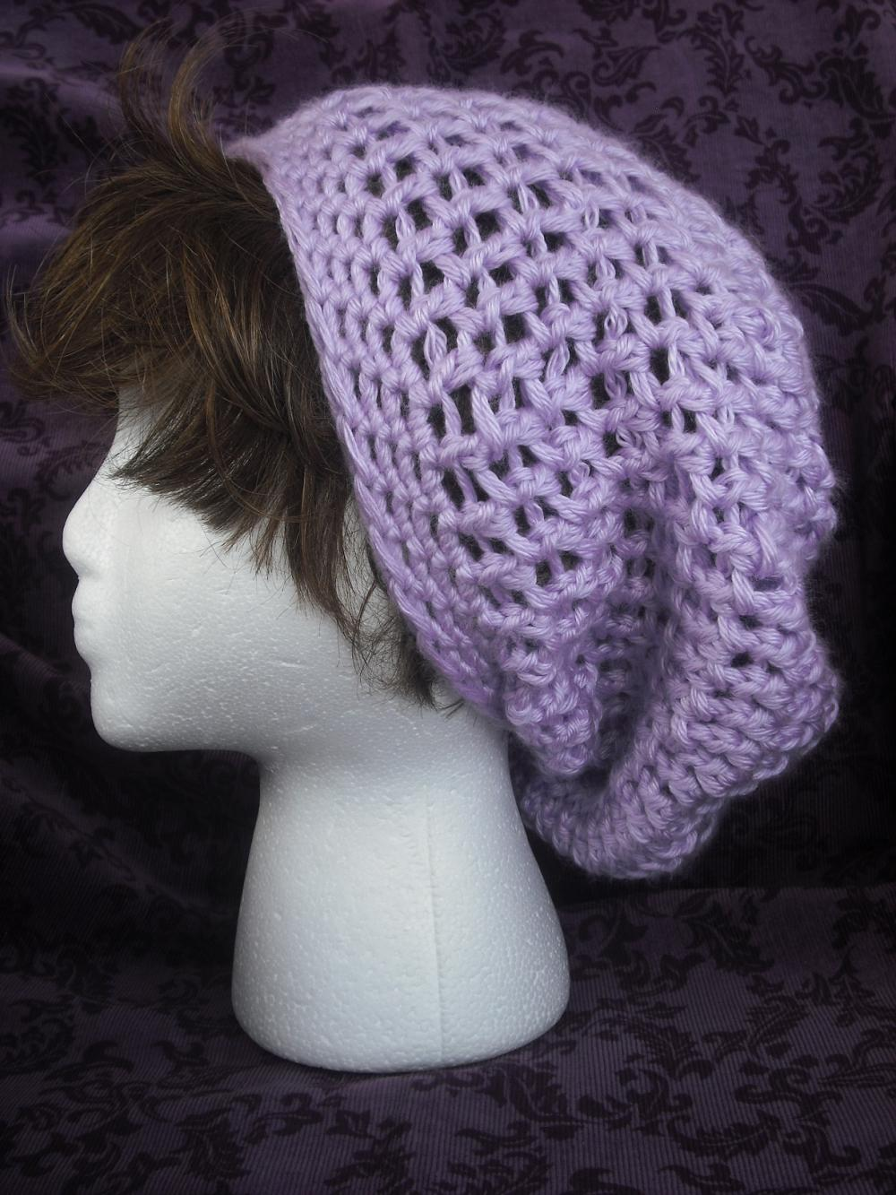 SALE Easy Super Slouch Hat Crochet PDF Pattern, Beret Crochet ...